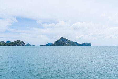 Natural scenery of Ang Thong National Marine Park, Samui, Thailand