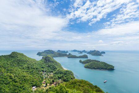 Landscape of Angthong National Nature Park, Samui, Thailand