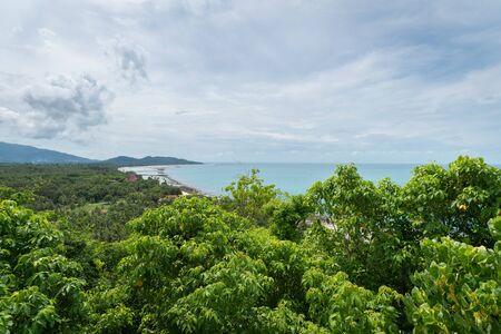Natural scenery of Koh Samui island, Thailand