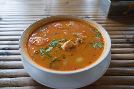 Thai Tom Yum Kung Seafood Soup