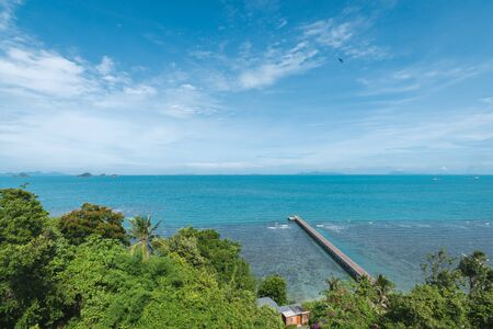 Koh Samui tropical island coastline natural scenery