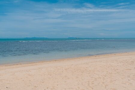 Seaside beach scenery of Koh Samui