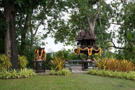 Buddha Temple at koh Samui
