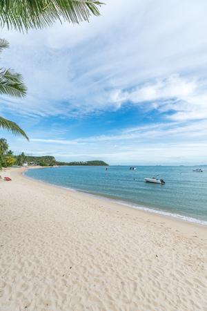 Natural scenery of Bo Phut Beach, Samui, Thailand