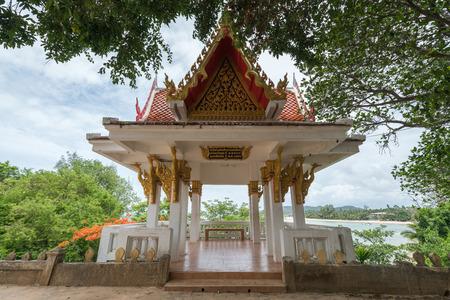Seaside Pavilion at Siranu Temple, Koh Samui