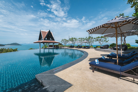 Swimming pool at Koh Samui Luxury Resort, Thailand