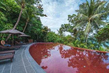 Thai Samui Luxury Resort Pool, Red Pool