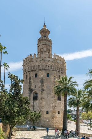 Torre del Oro in Sevile, Spain