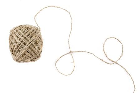hank: hank yarn isolated