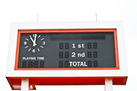 score board: score board Stock Photo