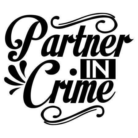 partner in crime, nature environment, crime t shirt
