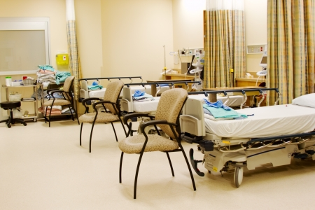 Recovery Room for surgery in hospital Stock Photo - 24659640