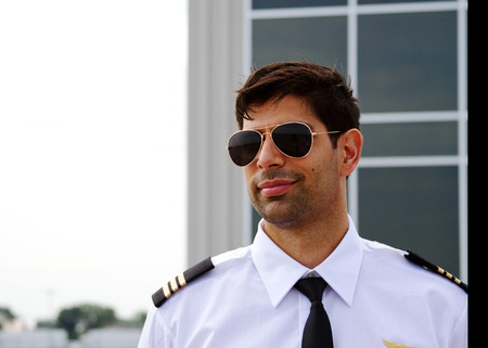 Profile of airline pilot