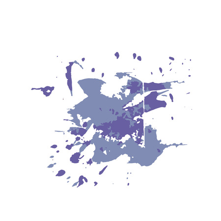 Abstract background with ink splats. Grunge background for wallpaper, interior, flyer cover, poster, banner, booklet. Illustration