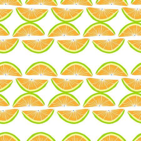 Bright Fruit Pattern With Citrus Fruit And Pineapples. Colorful Background  For Textile Or Book Covers, Manufacturing, Wallpapers, Print, Gift Wrap And Scrapbooking.