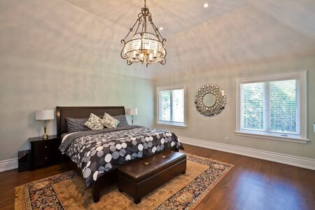 Luxury bedroom in an estate house Stock Photo - 10907496