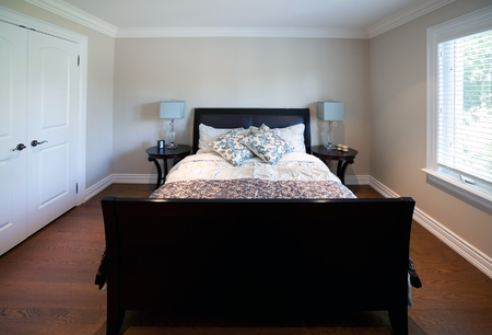 Luxury bedroom in an estate house Stock Photo - 10907487