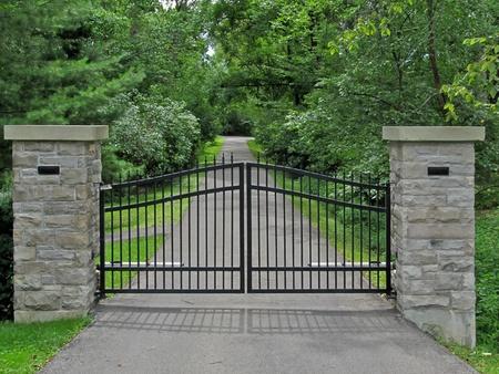 small stones: Gate