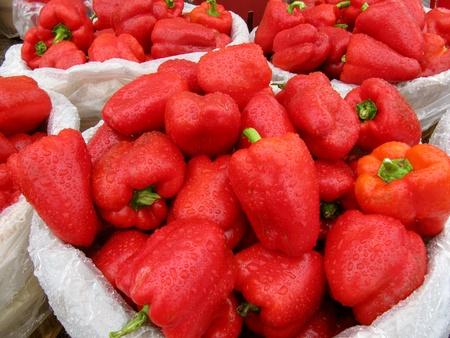 Rode paprika Stockfoto - 12077137