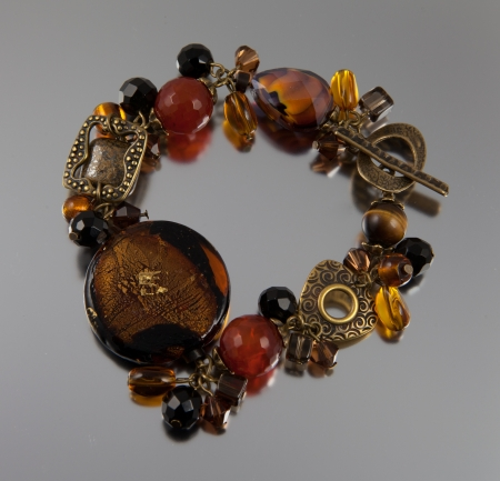 Bracelet made of semi precious stones Stock Photo - 13678202