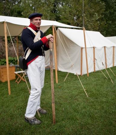 American soldier, War 1812 Stock Photo - 15876314