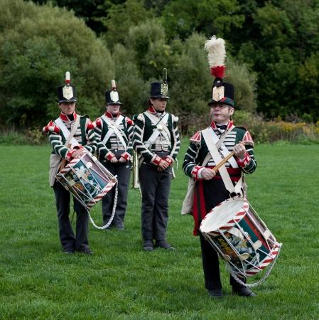 Battle reenactment, War 1812 Stock Photo - 15987363