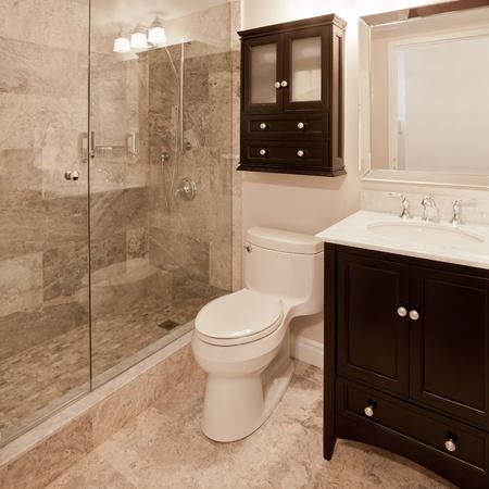 piastrelle bagno: Bagno Archivio Fotografico