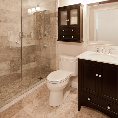 bathroom interior: Bathroom Stock Photo