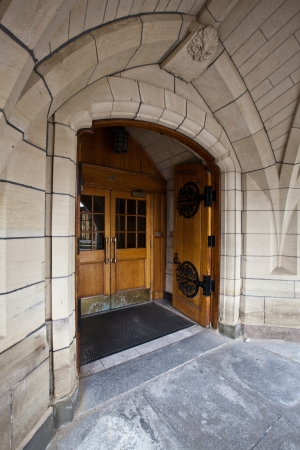 Gothic  door Stock Photo - 16850994