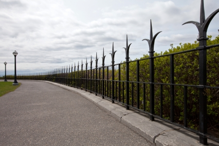 Elegant fence Stock Photo - 16850794