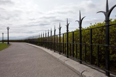Elegant fence Stock Photo - 16850794