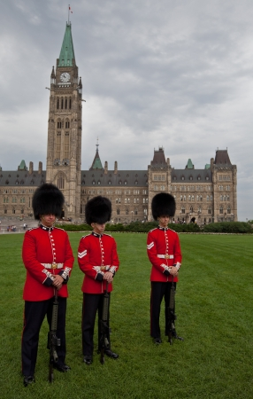 Canadian Guards Stock Photo - 17025836
