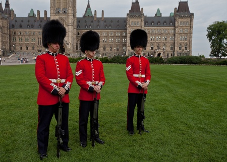 Canadian Guards Stock Photo - 17025837