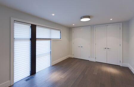 Empty room in new luxury house Stock Photo