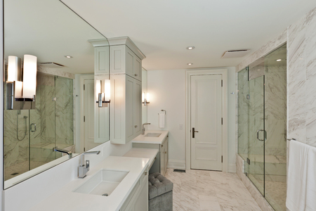 Bathroom in new luxury house