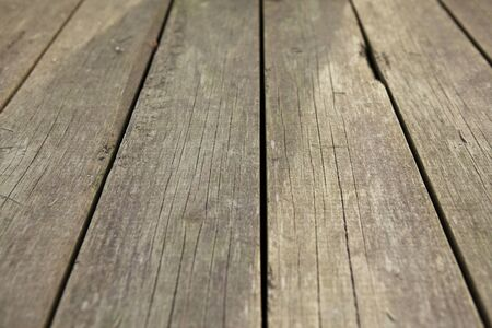 Old wooden deck texture background