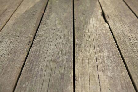 Old wooden deck texture background