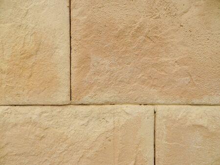 Stone wall background, square blocks