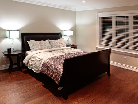 master bedroom: Master bedroom in a new luxury house