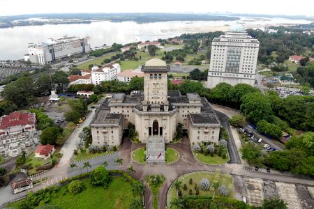 Johor Bahru famous landmark, Bangunan Sultan Ibrahim also known as Bukit Timbalan