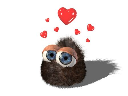 Wobby, the cute hairy creature, has strong feelings about you.