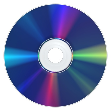 A Bluray Disc with the typical appearance