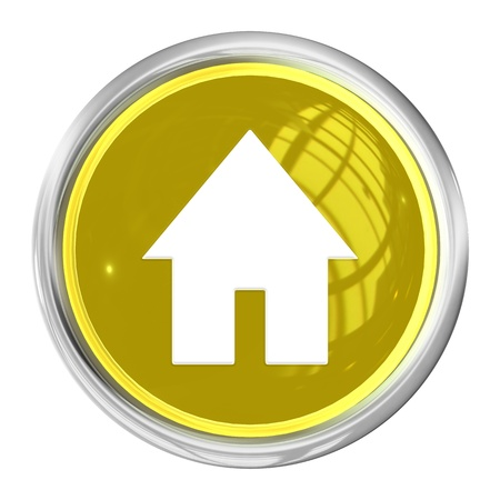 A Web Button Home on white Background photo