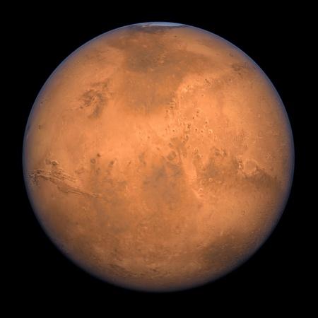 mars: Planeta Mars - renderowania peÅ'nego Shot wysokiej res Zdjęcie Seryjne