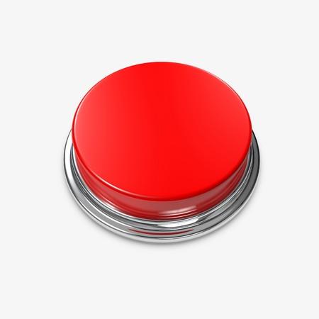 Eine rote Alarm-Taste ohne Beschriftung.