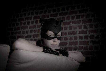 catwoman: catwoman close Stock Photo