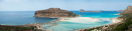 A day on the cruise ship to balos lagoon and Gramvousa island setting sail from chania on the greek island