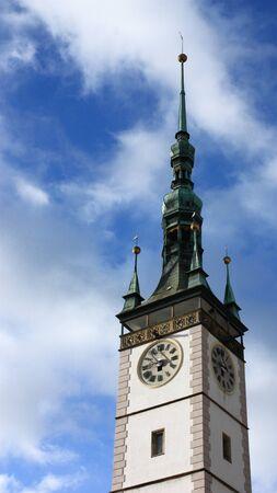 olomouc: In the center of Olomouc, the city of churches Stock Photo