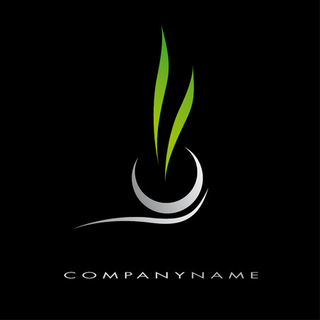 corporation: logotype energy for company, corporation Illustration