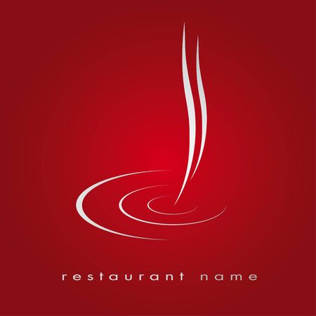 Logo for restaurant, fast food Çizim